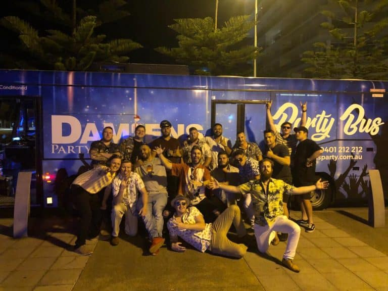 newcastle bucks party bus