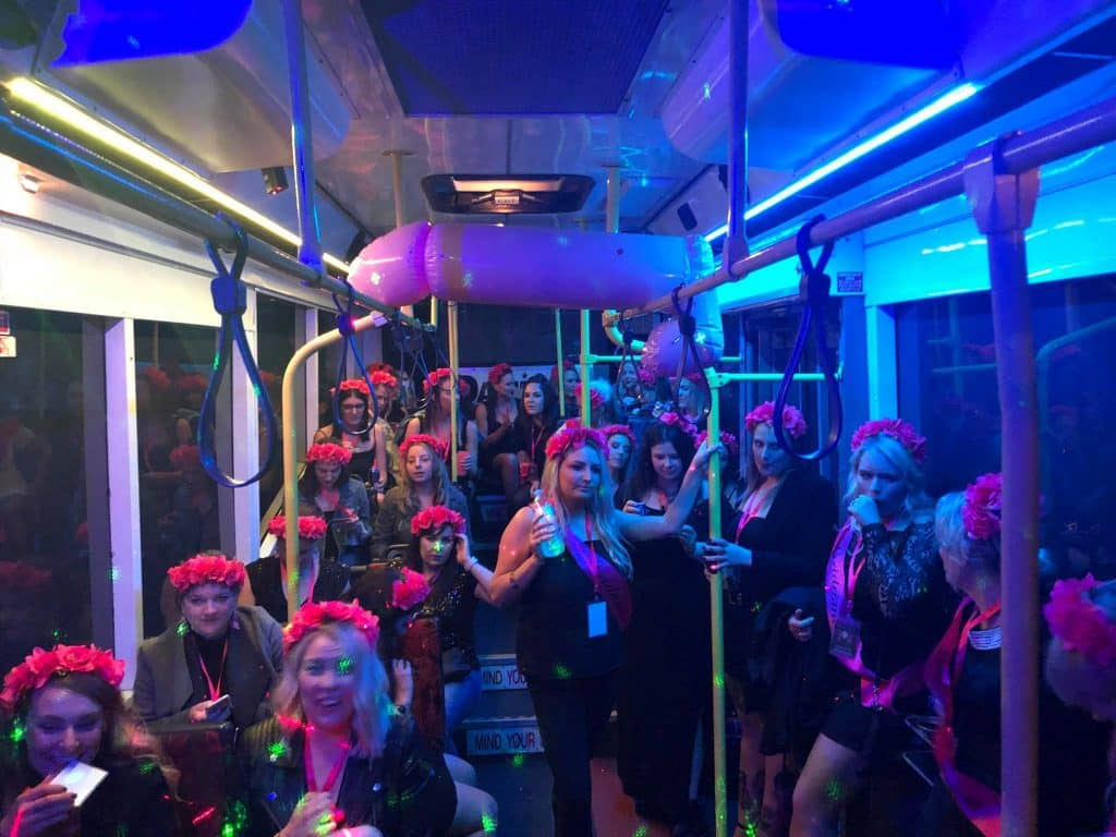 Hens Party Bus
